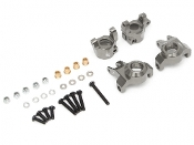 Boom Racing AR44 Steering Knuckle & C-Hub Carrier Set Gun Metal