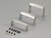 Killerbody Stainless Steel Body Mounts for SCX10 3.35/3.75 inch
