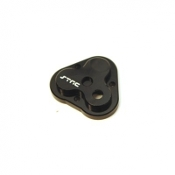 STRC ALUMINUM CENTER GEARBOX HOUSING COVER FOR TRX-4 (BLACK)