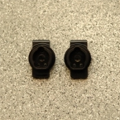 STRC BRASS REAR AXLE PORTAL DRIVE MOUNTS FOR TRAXXAS TRX-4