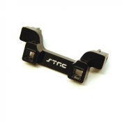 STRC MACHINED ALUM. HEAVY DUTY REAR BUMPER MOUNT, TRX-4 (BLACK)