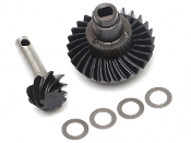 Boom Racing Heavy Duty Keyed Bevel Helical Overdrive Gear 27/8T