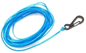 DSM 1/10 RC SYNTHETIC WINCH LINE W/ CLASP HOOK - 10' (Blue)