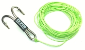 DSM 1/10 RC SYNTHETIC WINCH LINE W/ MULTI HOOK 10' (Neon Green)
