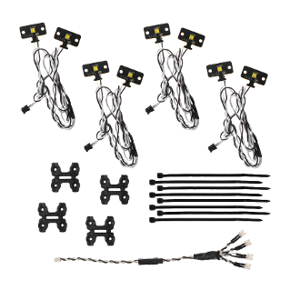 MYTRICK RC ROCK LIGHTS SET (8 LEDS) FOR TRAXXAS TRX4