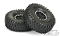 "Hyrax 1.9"" G8 Tires, Mounted on Impulse Black/Silver Plastic"
