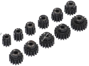 Boom Racing 32P Steel Pinion Gear Combo 9T-19T 3.175mm 11 PCS