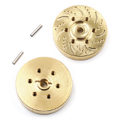 Yeah Racing Brass 53g Wheel Hubs 2pcs Vanquish SSD YR 1.9 Wheels