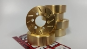 Beef Tubes BEEF PATTIES (BRASS) - GEAR HEAD STYLE