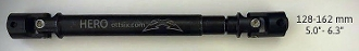 "Team Ottsix HERO DRIVESHAFT 128-162mm (5.0-6.3"") wt: 64g (2.2oz)"
