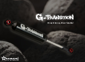 GMADE G-Transition shock black 90mm (4) for 1/10 RC Crawlers