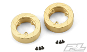 Pro-Line Racing Brass Brake Rotor Weights for Pro-Line 6 Lug Hex
