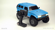 Cross RC FR4 1/10 Demon 4x4 RTR Off Road Truck Blue