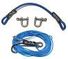 DSM 1/10 RC SYNTHETIC WINCH LINE W/HOOK - 10' V2 (Blue)